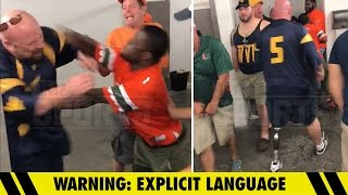 Bowl Game Bathroom Fight -- 'I Used to Eff Guys Like You In Prison!' | TMZ Sports