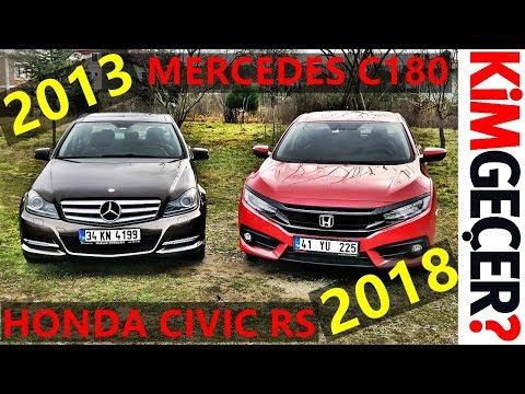 2018 Honda Civic RS Mi, 2013 Mercedes C180 Mi?