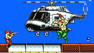 Contra Force (NES) Playthrough (No Death)