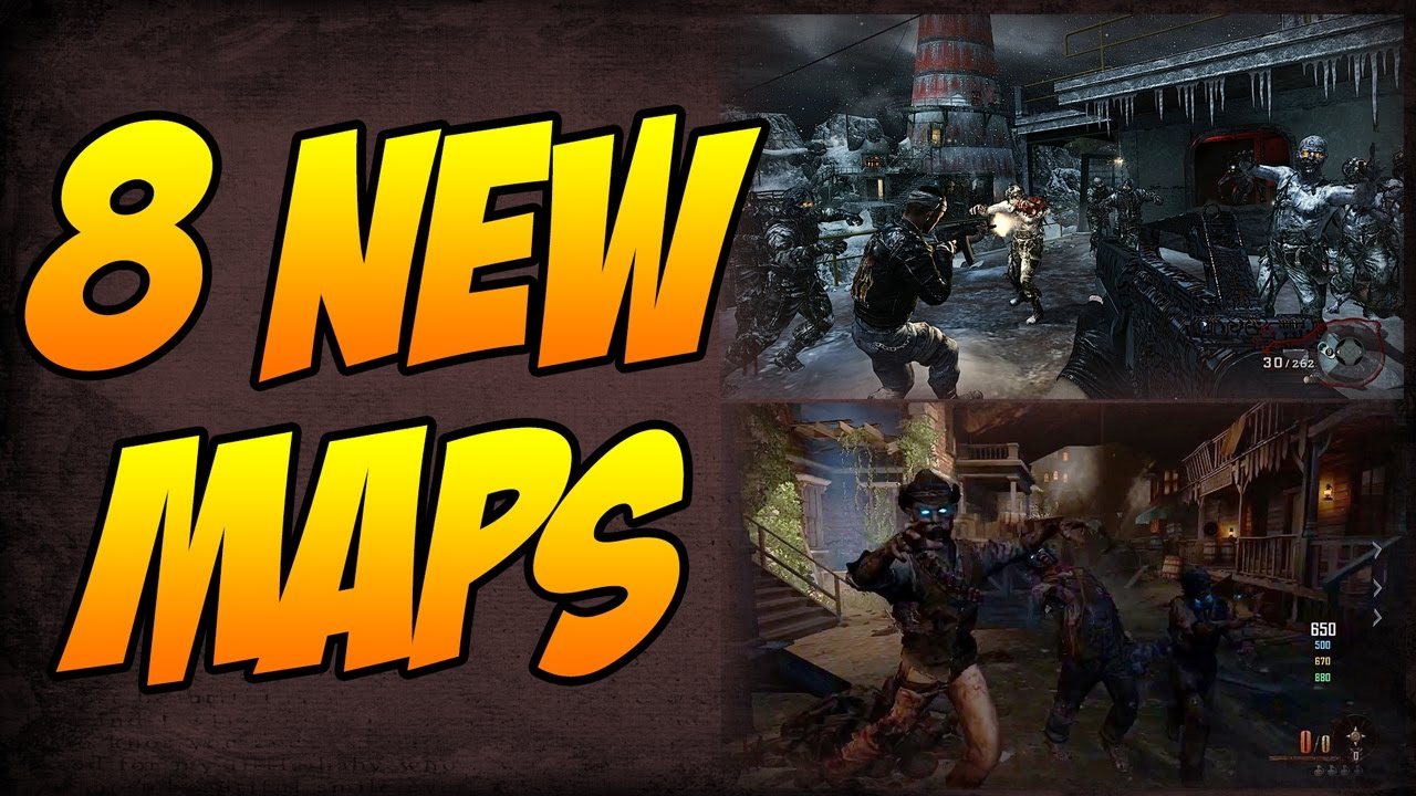 The 8 Remastered Zombies Maps Coming To Black Ops 3 DLC 5 \