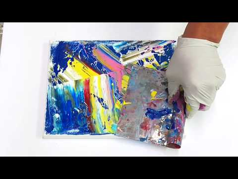 ODDLY SATISFYING ART VIDEOS / painting  art lesson newqx 9