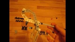 Самоделка ЛЕГО LEGO HERO FACTORY BIONICLE каменный элементаль