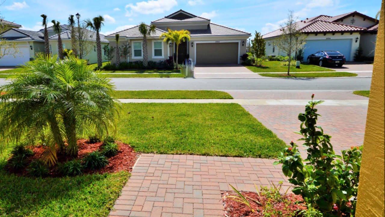 New gated community of Portosol in Royal Palm Beach - YouTube
