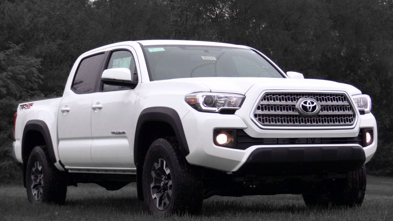 2017 toyota tacoma trd off road review youtube. Black Bedroom Furniture Sets. Home Design Ideas