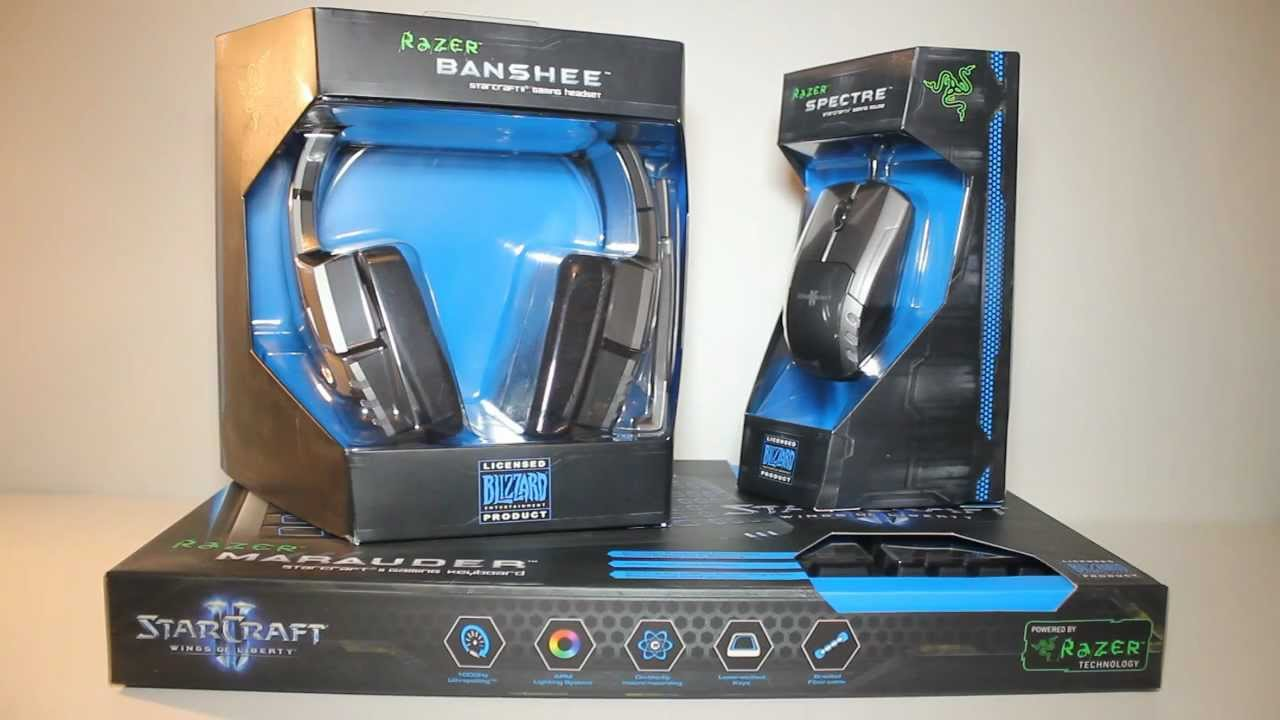 fa2d087fae0 Razer StarCraft 2 Collectors Edition Set Unboxing and Overview - YouTube