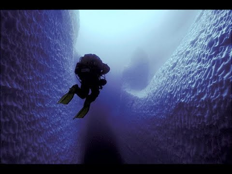 Inside Deepest Ice Caves of Mont Blanc