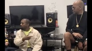 Kanye West Proves He Can Freestyle Better Than Jay Z  Pulls Up On Dame Dash