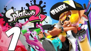 Splatoon 2 - Gameplay Walkthrough Part 1 - Story Mode Campaign (Full Game) Nintendo Switch