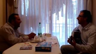 Cantando con mi querido hermano y amigo Dimas de Ocharcoaga
