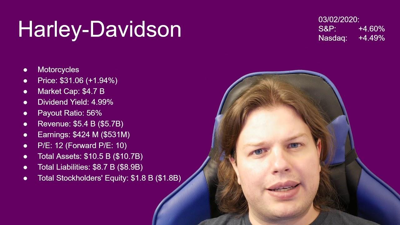 hog stock dividend