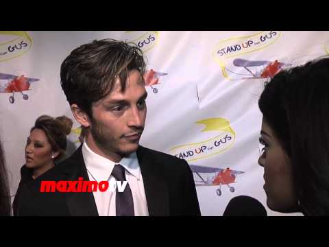 """Bobby Campo Interview """"Stand Up For Gus"""" Benefit Event Red Carpet - Being Human Actor"""