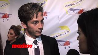 "Bobby Campo Interview ""Stand Up For Gus"" Benefit Event Red Carpet - Being Human Actor"