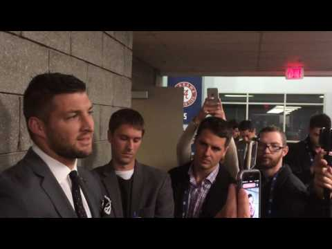 Tim Tebow talks about how Alabama could lose to Florida