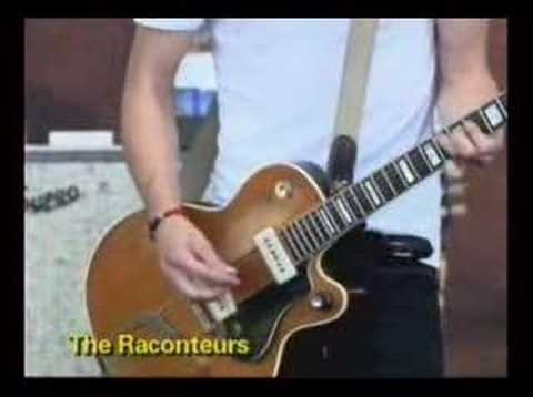 The Raconteurs live at lollapalooza
