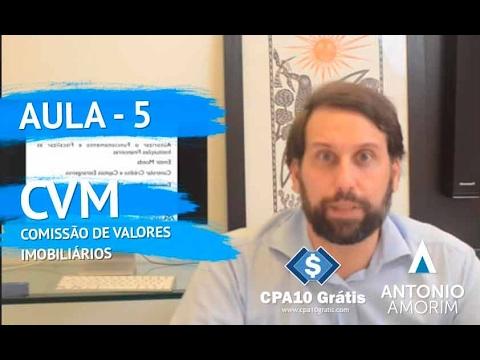 #AULA 05 - Comissão de Valores Mobiliários - CPA10gratis.com