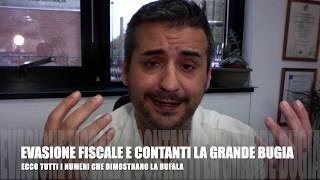 LA BUFALA DEL CONTANTE VS EVASIONE FISCALE