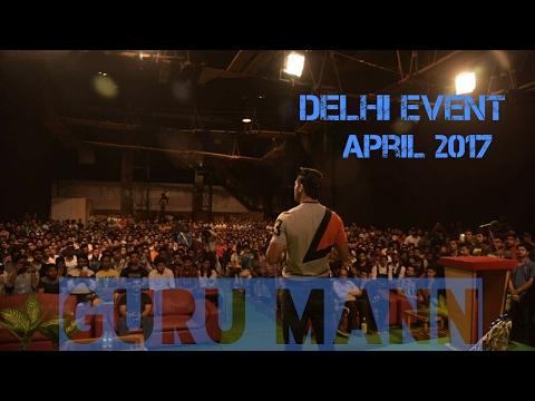 GuruMann Delhi Event April 01,2017 | Mission India Fit