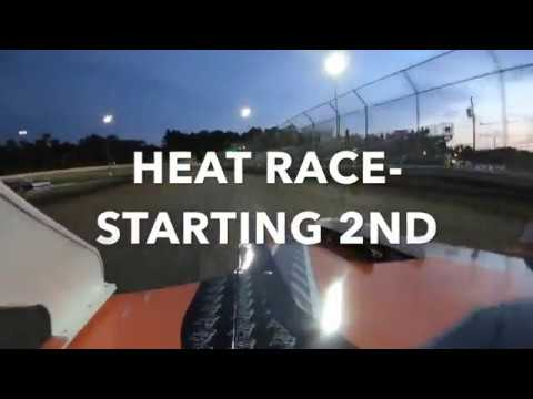 Started 2nd in the Heat. Our 3rd race overall for the Cline Motorsports Mod Lite Racing Team! - dirt track racing video image