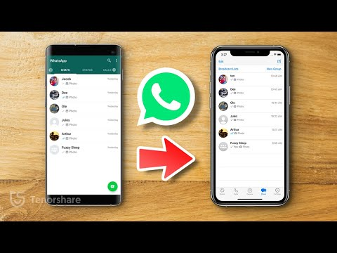 Learn 3 ways to transfer your WhatsApp data from Android to iPhone and vice versa in this tutorial!!.
