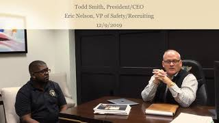 Todd and Eric -- Smith Transport 12.9.19 Video