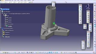 Catia V5  Elemento finito. Analysis and Simulation