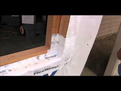 Flex Wrap Recess Window Flashing Best Practices By Tls