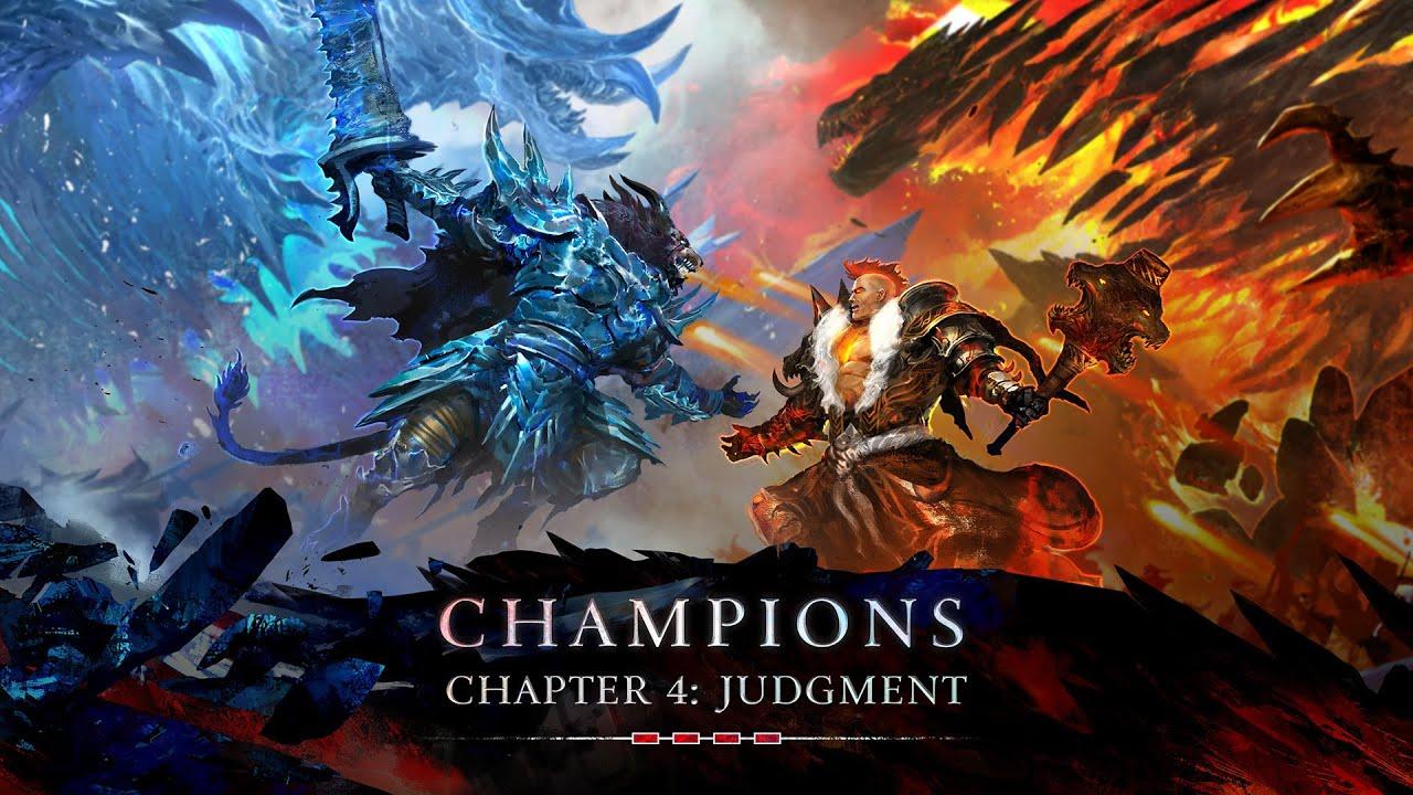 Guild Wars 2 The Icebrood Saga: Champions Finale - Judgment