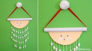 Jak zrobić dekorację świąteczną? Mikołaj