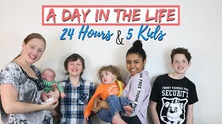 24 HOURS WiTH 5 KiDS 😱