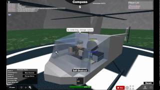 Come pilotare un roblox heli in eli test