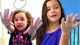 Wash Your Hands Song By FAM JAM Fun Educational Songs for kids