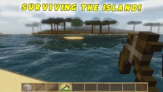 Cube Life Island Survival Gameplay: SURVIVING THE ISLAND! - Walkthrough PC