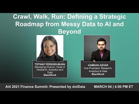 Crawl, Walk, Run: Defining a Strategic Roadmap from Messy Data to AI and Beyond