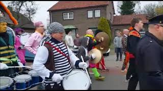 Carnavalsoptocht 2018 Polyhymnia Lemelerveld