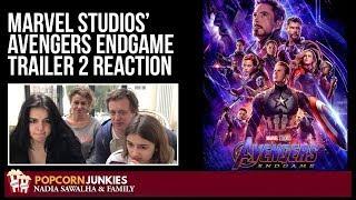 Marvel Studios' Avengers Endgame OFFICIAL Trailer 2 - Nadia Sawalha & Family Movie Reaction