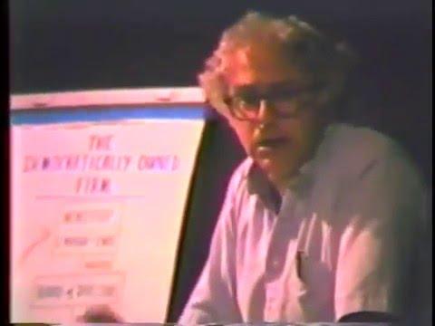 Burlington Progressive Entrepreneurship Forum (Full, 1985) ft Bernie Sanders