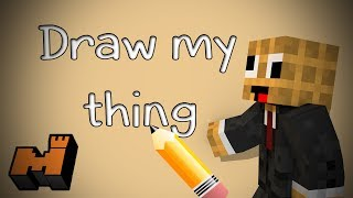 Minecraft: Draw My Thing - How to Draw an Ankle
