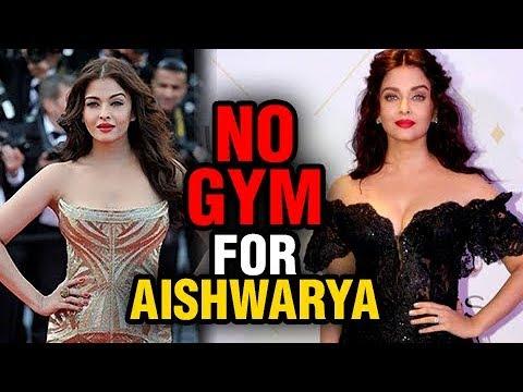 SHOCKING Aishwarya Rai's NO GYM Clause, Reveals Abhishek Bachchan
