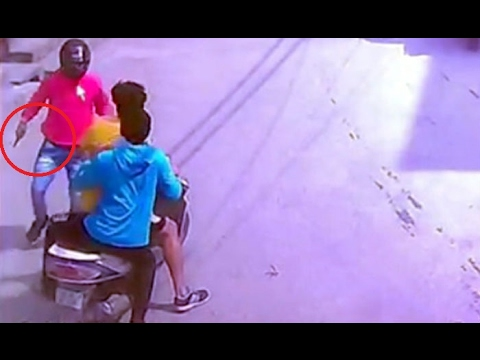 Three Men Shoot Youth To Death In Najafgarh | Delhi | CCTV Video | Men Rained Bullets on a Youth