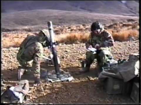 Mortar target grid 1RNZIR RNZAF