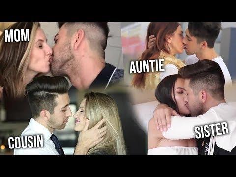 Kissing My Whole Family Tree Prank