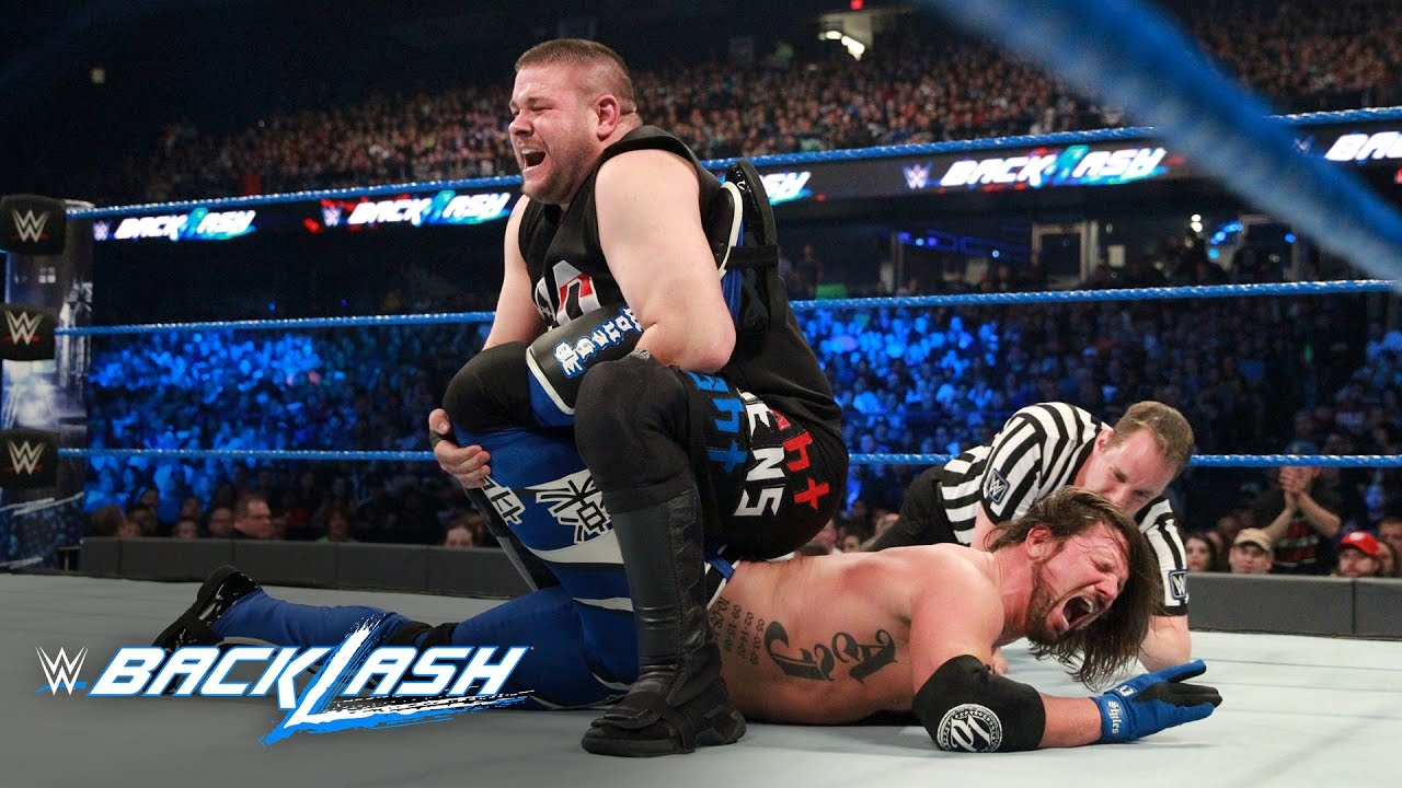 aj styles vs kevin owens u s title match wwe backlash 2017 wwe network exclusive youtube. Black Bedroom Furniture Sets. Home Design Ideas