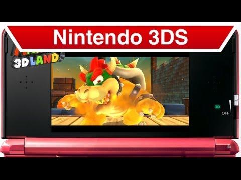 Nintendo 3DS - Super Mario 3D Land Trailer