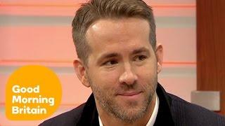 Ryan Reynolds On Deadpool   Good Morning Britain