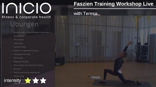 Faszien Training Workshop Live
