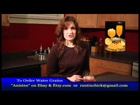 Kefir Making The Benefits Of Water Kefir Youtube