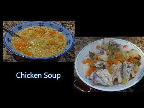 Italian Grandma Makes Chicken Soup