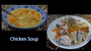 Italian Grandma Makes Chicken Soup