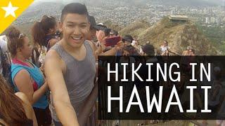 DIAMOND HEAD HIKING IN HAWAII (Day 4, Honolulu 2014) - ohitsROME vlogs