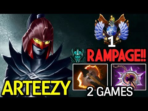 Arteezy Dota 2 [Phantom Assassin] Top-1 EU | 2 Games Brutal Crit thumbnail